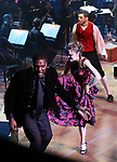 "Norm Lewis, Tony Yazbeck and Laura Osnes performing during the MCP Production of ""The Scarlet Pimpernel"" Concert at the David Geffen Hall on February 18, 2019 in New York City."