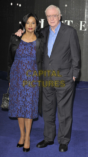 LONDON, ENGLAND - OCTOBER 29: Shakira Caine &amp; Sir Michael Caine attend the &quot;Interstellar&quot; UK film premiere, Odeon Leicester Square cinema, Leicester Square, on Wednesday October 29, 2014 in London, England, UK. <br /> CAP/CAN<br /> &copy;Can Nguyen/Capital Pictures