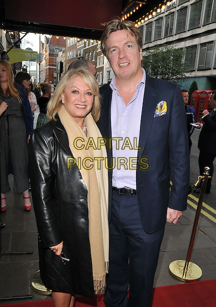 LONDON, ENGLAND - MAY 11: Elaine Paige &amp; Justin Mallinson attend the &quot;Hay Fever&quot; press night, Duke of York's Theatre, St Martin's Lane, on Monday May 11, 2015 in London, England, UK. <br /> CAP/CAN<br /> &copy;Can Nguyen/Capital Pictures
