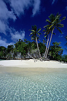 Palau Beach and Island<br /> Three Coconut Island