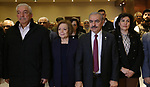 Palestinian Prime Minister Mohammad Ishtayeh attends symposium to commemorate ceremony marking the 31st anniversary of killing the Palestinian leader Khalil al-Wazir (Abu Jihad) by Israeli special forces in Tunisia, in the West Bank city of Ramallah, April 16, 2019. Photo by Prime Minister Office