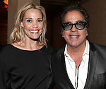 Leslie Bibb & Richard Jay Alexander.attending the after performance reception for.Kristin Chenoweth World Tour directed by Richard Jay Alexander at City Center in New York City on 6/02/2012