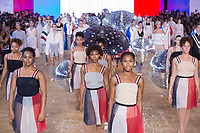 MONCLER GAMME ROUGE<br /> show at Spring/Summer 2018 Ready-to-Wear Fashion Show at Paris Fashion Week in Paris, France in October 2017.<br /> CAP/GOL<br /> &copy;GOL/Capital Pictures