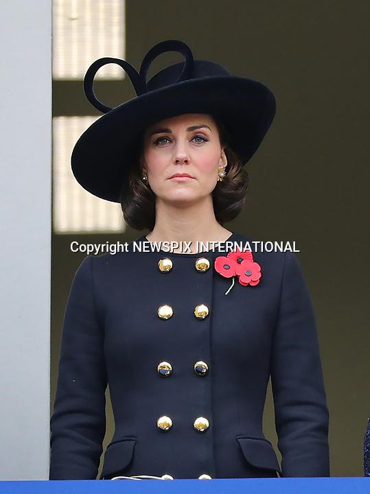 Royals Attend Remembrance Service, London