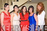 Moyvane GAA Socoial : Pictured at the Moyvane GAA social held a the Listowel Arms Hotel on Friday night last were Michelle Cprridan, Patricia O'Connor, Denise Collins, Aoife Curtin & Mairead Tierney.