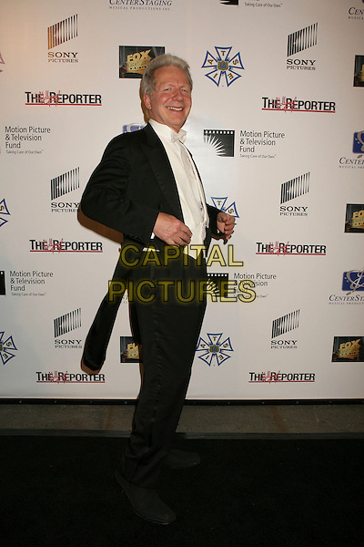 "JOHN MAUCERI.""A Fine Romance"" Star-Studded Evening Celebrating The Love Affair Between Hollywood and Broadway held at Sony Studios, Culver City, California, USA..October 20th, 2007.full length white shirt black suit tails waistcoat .CAP/ADM/RE.©Russ Elliot/AdMedia/Capital Pictures."