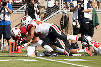Stanford, CA - November 5, 2016:Christian McCaffrey  during  the Stanford vs Oregon State game at Stanford Stadium Saturday. <br /> <br /> Stanford won 26-15.