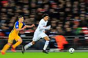 6th December 2017, Wembley Stadium, London England; UEFA Champions League football, Tottenham Hotspur versus Apoel Nicosia; Dele Alli of Tottenham Hotspur motion blur