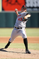 Oliver Drake - Scottsdale Scorpions - 2010 Arizona Fall League.Photo by:  Bill Mitchell/Four Seam Images..