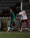 Don Cowan of Stevenage scores the first goal. Stevenage v Barnet - Herts Senior Cup - Lamex Stadium, Stevenage - 31st January 2012 . © Kevin Coleman 2012