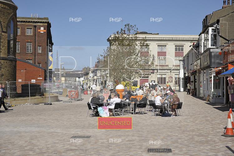 St John's Square Blackpool......© Phill Heywood.