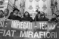 - Torino, sciopero e manifestazione dei quadri ed impiegati FIAT (gennaio 1994)<br /> <br /> - Turin, strike and demonstration of Fiat executives and employees (January 1994)