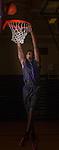 "Cedar Ridge's 6' 7"" sophomore Tim Holland.  (LOURDES M SHOAF for Round Rock Leader.)"