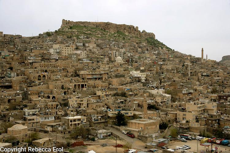 Mardin, an Arab style town in the southeast of Turkey
