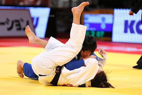 Erina Ike (JPN), DECEMBER 5, 2015 - Judo : IJF Grand Slam Tokyo 2015 International Judo Tournament Women's -70kg Bronze medal match at Tokyo Metropolitan Gymnasium, Tokyo, Japan. (Photo by Sho Tamura/AFLO SPORT)