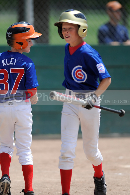 The Pleasanton National Little League Major League Cubs battle the Diamondbacks in the playoffs June 13, 2009