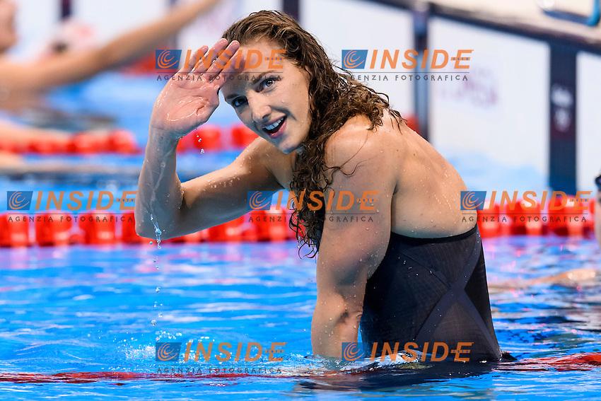 HOSSZU Katinka HUN Gold Medal Women's 100m Backstroke <br /> Rio de Janeiro 08-08-2016 Olympic Aquatics Stadium <br /> Swimming Nuoto <br /> Foto Andrea Staccioli/Deepbluemedia/Insidefoto