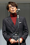 Japanese actor Issey Takahashi speaks during the 30th Japan Best Dressed Eyes Awards at Tokyo Big Sight on October 11, 2017, Tokyo, Japan. The event featured Japanese celebrities who were recognized for their fashionable eyewear. (Photo by Rodrigo Reyes Marin/AFLO)