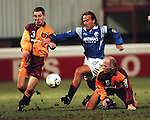 Seb Rozenthal bursts through the Motherwell defence as he makes his debut for Rangers