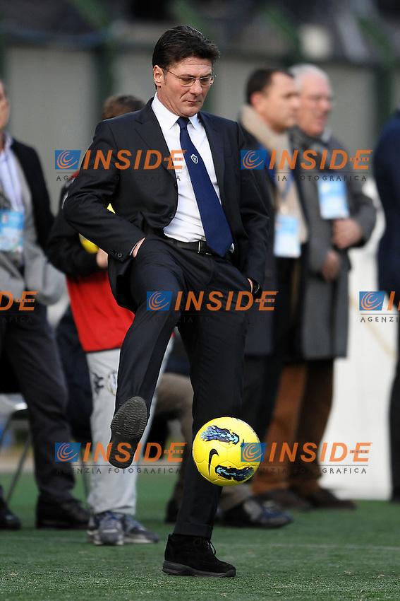 Walter Mazzarri allenatore del Napoli.Siena 21/01/2012 Stadio Artemio Franchi.Football Calcio 2011/2012 Serie A.Siena Vs Napoli.Foto Insidefoto Andrea Staccioli