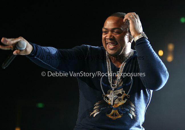 Timbaland performs live at The 1st Annual 102.7 KIIS FM Homecoming Concert held at The Honda Center  in Anaheim, California on October 27,2007                                           Copyright 2007 RockinExposures