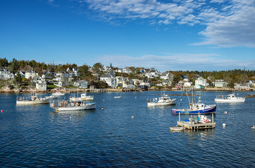 Harbor, Stonington, Deer Isle, Maine