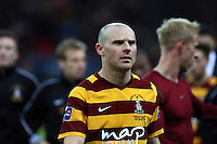Pictured: Gary Jones. Sunday 24 February 2013<br /> Re: Capital One Cup football final, Swansea v Bradford at the Wembley Stadium in London.