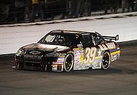 May 2, 2009; Richmond, VA, USA; NASCAR Sprint Cup Series driver Ryan Newman during the Russ Friedman 400 at the Richmond International Raceway. Mandatory Credit: Mark J. Rebilas-