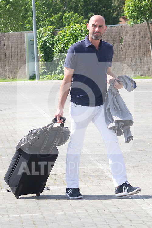 01.06.2012. Arrival of the players in the Spanish football team squad for the European Championship in Poland and Ukraine to the Ciudad del Futbol of Las Rozas, Madrid. In the image (Alterphotos/Marta Gonzalez)