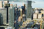 Aerial Photos-Amazon buildings, South Lake Union, Seattle