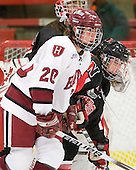 Kate Buesser (Harvard - 20), ? - The Harvard University Crimson defeated the Northeastern University Huskies 1-0 to win the 2010 Beanpot on Tuesday, February 9, 2010, at the Bright Hockey Center in Cambridge, Massachusetts.