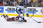 Dan Bertram, Steve Mullin - The Boston College Eagles defeated the University of Maine Black Bears 4-1 in the Hockey East Semi-Final at the TD Banknorth Garden on Friday, March 17, 2006.