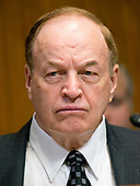 """United States Senator Richard Shelby (Republican of Alabama) listens as US Secretary of Defense James N. Mattis and the Chairman of the Joint Chiefs of Staff, US Marine Corps General Joseph F. Dunford, Jr.testify at a US Senate Committee on Appropriations Subcommittee on Defense hearing entitled """"A Review of the Budget & Readiness of the Department of Defense"""" on Capitol Hill in Washington, DC on Wednesday, March 22, 2017.<br /> Credit: Ron Sachs / CNP"""