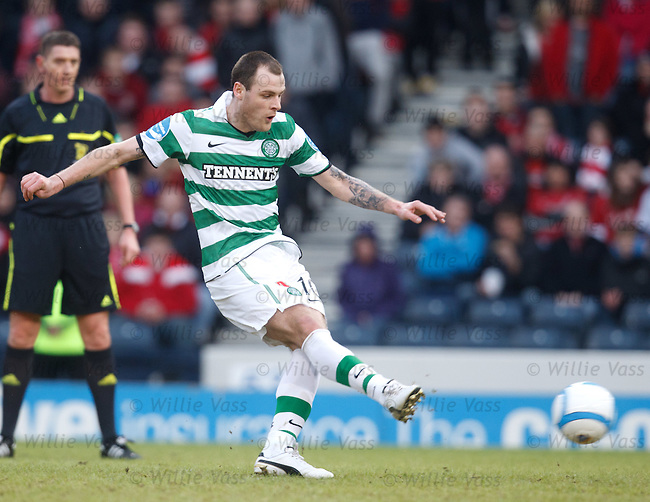 Anthony Stokes stokes home his penalty for goal no 4