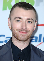 LOS ANGELES- DECEMBER 1:  Sam Smith at the 102.7 KIIS FM's Jingle Ball 2017 at the Forum on December 1, 2017 in Los Angeles, California. (Photo by Scott Kirkland/PictureGroup)