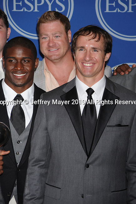 LOS ANGELES, CA. - July 14: {object) pose in the press room during 2010 ESPY Awards at Nokia Theatre L.A. Live on July 14, 2010 in Los Angeles, California.