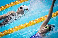 Katinka Hosszu of Hungary in act at women's 400m medley final during 18th Fina World Championships Gwangju 2019 at Nambu University Municipal Aquatics Centre, Gwangju, on 28  July 2019, Korea.  Photo by : Ike Li / Prezz Images