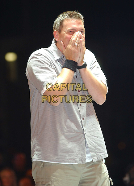 CAMERON.Winner of Big Brother 4.cuff, hands, shocked.sales@capitalpictures.com.www.capitalpictures.com.©Capital Pictures