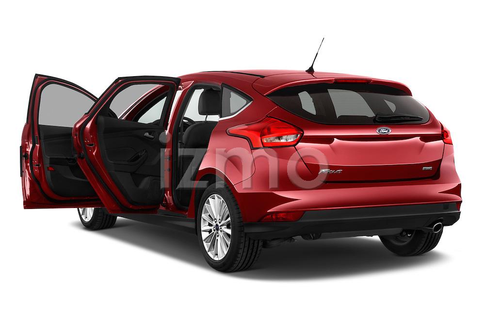 Car images of a 2015 Ford Focus Titanium 5 Door Hatchback Doors
