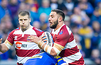 Picture by Allan McKenzie/SWpix.com - 13/04/2018 - Rugby League - Betfred Super League - Leeds Rhinos v Wigan Warriors - Headingley Carnegie Stadium, Leeds, England - Romain Navarette.