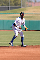 Starlin Castro - Mesa Solar Sox, 2009 Arizona Fall League.Photo by:  Bill Mitchell/Four Seam Images..