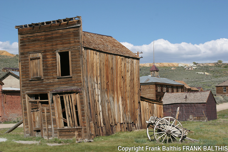 Old building in Bodie SHP
