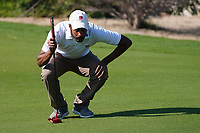 Ali Al-Shahrani (QAT)(AM) on the 1st during Round 1 of the Commercial Bank Qatar Masters 2020 at the Education City Golf Club, Doha, Qatar . 05/03/2020<br /> Picture: Golffile | Thos Caffrey<br /> <br /> <br /> All photo usage must carry mandatory copyright credit (© Golffile | Thos Caffrey)