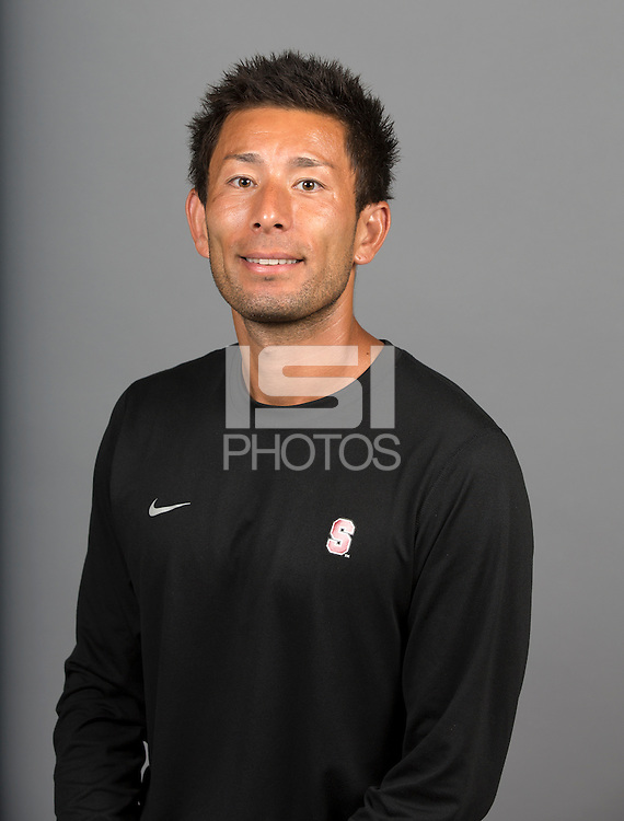STANFORD, CA - AUGUST 15, 2014--Hideki Nakada,  of the Stanford Women's Soccer team.