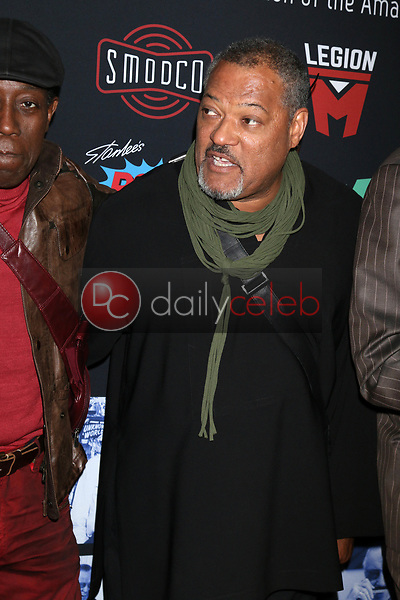 "Laurence Fishburne<br /> at ""Excelsior! A Celebration of the Amazing, Fantastic, Incredible & Uncanny Life of Stan Lee,"" TCL Chinese Theater, Hollywood, CA 01-30-19<br /> David Edwards/DailyCeleb.com 818-249-4998"