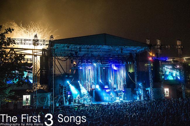 The Flaming Lips perform at the 2014 Bunbury Music Festival in Cincinnati, Ohio