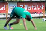 04.07.2019, Parkstadion, Zell am Ziller, AUT, TL Werder Bremen - Tag 00<br /> <br /> im Bild / picture shows 1. Training im TL Zillertal am Mittwoch abend<br /> Claudio Pizarro (Werder Bremen #14)<br /> Feature #zillertal<br /> <br /> Foto © nordphoto / Kokenge
