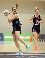 10.09.2017 Silver Ferns Claire Kersten in action during the Taini Jamison Trophy match between the Silver Ferns and England at Pettigrew Green Arena in Napier. Mandatory Photo Credit ©Michael Bradley.