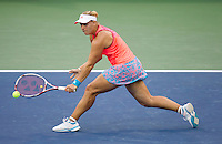 ANGELIQUE KERBER (GER) against SAMANTHA STOSUR (AUS) (9) in the Semi-Finals of the Women's SIngles. Samantha Stosur beat Angelique Kerber 6-3 2-6.6-2..Tennis - Grand Slam - US Open - Flushing Meadows - New York - Day 13 - September 10th  2011..© AMN Images, Barry House, 20-22 Worple Road, London, SW19 4DH, UK..+44 208 947 0100.www.amnimages.photoshelter.com.www.advantagemedianetwork.com.