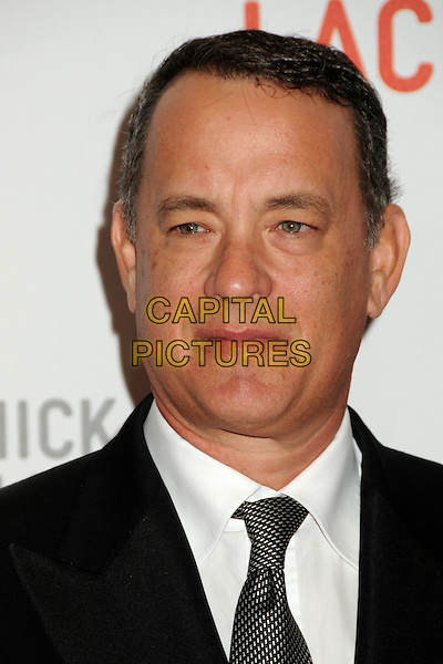 "TOM HANKS .LACMA's ""The Unmasking"" of the Lynda & Stewart Resnick Exhibition Pavilion Opening Gala held at the Los Angeles County Museum of Art, - Los Angeles, California, USA, 25th September 2010..portrait headshot black tie white shirt .CAP/ADM/BP.©Byron Purvis/AdMedia/Capital Pictures."